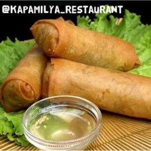 lumpia kapamilya restaurant filipino food long beach festival